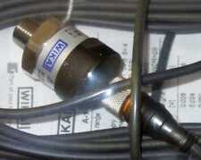 WIKA A-10 PRESSURE TRANSMITTER 52608603 STAINLESS STL 0-500PSI/0-10V CABLE LEAD