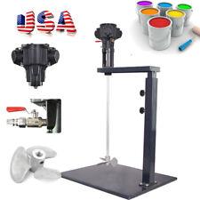 5 Gallon Pneumatic Mixer Machine Paint Ink Coating Mixing Industry Alloy Vane US