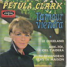 "PETULA CLARK - L'Amour Viendra - 7"" - EP - Vogue - EPL 8602 - 1968 - Pop - FR"