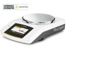 Sartorius Practum612-1S Lab Balance 612x0.01g,Jewelry Scale, Touch Screen, New