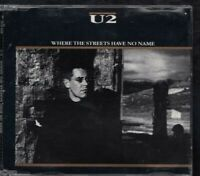 U2 Where The Streets Have No Name 1987 4 TRACK CD MAXI GERMANY TOPAC 659  382