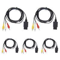 10x Wholesale Lot New Audio Video AV Cables for Nintendo 64 N64 Gamecube SNES