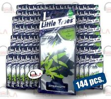 6 Packs (144pcs) Little Trees Hanging Car and Home Freshener, Streght LOT