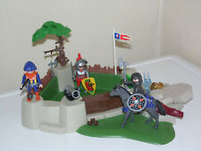 Playmobil Castle - Knights Fort Set with Figures Horse - Fortress attack