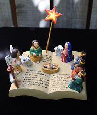 Alebrije Nativity Set as Bible Hand Carved & Painted Oaxaca Mexican Folk Art