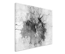 120x80cm Astratto_1495 Nero Bianco Marmorizzato Grigio Arte Motivo