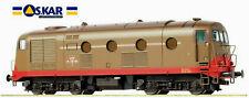 Oskar 1012, FS Locomotiva Diesel D 341 1015 1/a serie FIAT, con 2 fari.