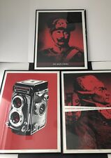 The White Stripes Lot Three (3) Framed Posters Artist Numbered June July 2007