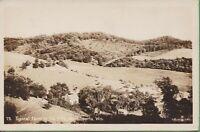 Vintage Postcard Wisconsin WI Typical Farm  Hills Near Sparta RPPC 1942 Photo