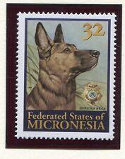 Micronesia, Scott 240, Police Dog, 1996, NH