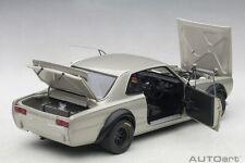 Autoart NISSAN SKYLINE GT-R KPGC-10 RACING 1972 SILVER 1/18 Scale New Release!
