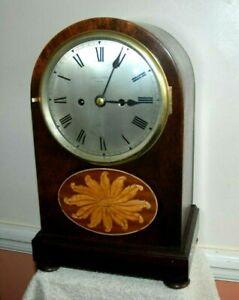 ANTIQUE FUSEE BRACKET CLOCK