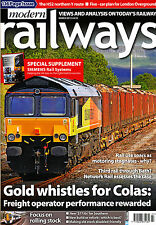 MODERN RAILWAYS 774 MAR 2013 Informed Sources 30Yr,Rolling Stock,Siemens,Europe