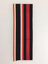 GENUINE German WWII Sudeten and War Merit Cross combined miniature medal ribbon