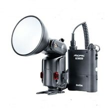 Godox AD-180 Wistro Power Portable Flash Light w/PB960 Battery Kit F DSLR Camera