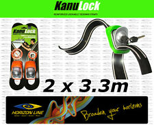 SPT Kanu Lock 3.3m Strap- Lockable Kayak Tie Down Straps Surf Sit on Top SUP Ski