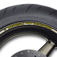 GOLDWING WHEEL RIM STICKERS DECALS - Many Colours GL 1000 1100 1500 se