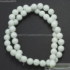Top Czech Opaque Coated Glass Pearl Round Beads 4mm 6mm 8mm 10mm 12mm 14mm 16''