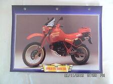 CARTE FICHE MOTO APRILIA ETX TUAREG 350   1986