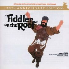 FIDDLER ON THE ROOF CD SOUNDTRACK - 30TH ANNIVERSARY EDITION (2001) - NEW