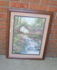 Homco Sherry Masters Sycamore Creek Picture Floral