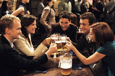 """How i met your mother TV Show Fabric poster 36"""" x 24"""" Decor 01"""