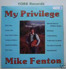 MIKE FENTON - My Privilege - Excellent Con LP Record