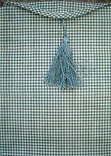 Waverly Fabric COUNTRY FAIR Blue Jeans INDIGO ASCOT VALANCE _ NIP