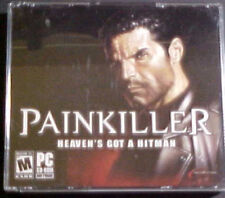 PAINKILLER CD-ROM/PC GAME- 2004 DREAMCATCHER- 3 DISCS