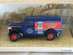 Matchbox models of yesteryear Y12 GMC Van Goanna Oil 1:45 Scale