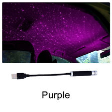 New USB LED Car Roof Star Night Interior Light Atmosphere Galaxy Lamp Projector