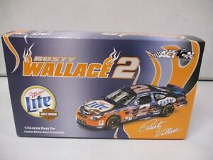 Action 2002 Rusty Wallace Miller Lite / Harley Davidson 1/24