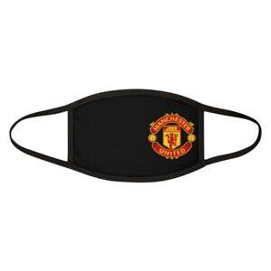 Manchester United Face Mask One Size GIft Unisex Glory Glory Man