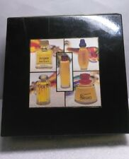FRENCH PERFUMES ( 5 PIECES ) IVOIRE DE BALMAIN=CREATION=RUMBA+SOCIETE+ARROGANCE