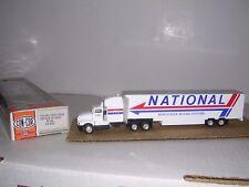 "CON-COR #1072  Kenworth 10 Wheel Cab w/48' Van Trailor ""National"" Built-up H.O."