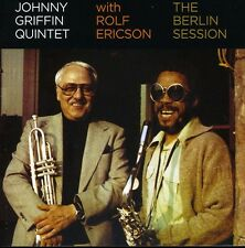 Johnny Griffin - Berlin Session with Rolf Ericson [New CD]