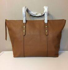 Ladies Fossil Jenna Tote Medium Bag Leather Brown BNWT £189.00
