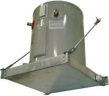 "Holdrite 40-SWHP-W QuickStand Water Heater Platform 21-1/4"" x 21-1/4"" Aluminum"