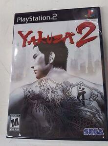 Yakuza 2 (Sony PlayStation 2, 2008 RE-PRINT) NTSC Brand New Factory Sealed