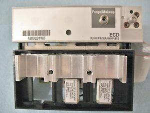 AGILENT 6890 GC ECD FLOW PROGRAMMABLE MANIFOLD 4300L01WB EXCELLENT