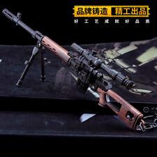 TOY 1/6 1:6 PUBG RUSSIAN SVD sniping rifle gun BattleField4 Battleground Metal