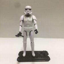 "Star Wars Epic Battles 3.75"" IMPERIAL STORMTROOPER hasbro figure w/ gun stand"