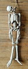 More details for hanging skeleton bones hangman's noose gothic figurine uk seller
