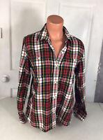 RALPH LAUREN Plaid Shirt Womens Large
