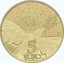 O4266 France 5 Euros Europa Colombe 2015 Gold Or BE PROOF -> Faire offre
