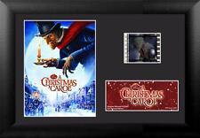 "A CHRISTMAS CAROL 2009 Walt Disney FRAMED FILM CELL and MOVIE PHOTO 5"" x 7"" New"