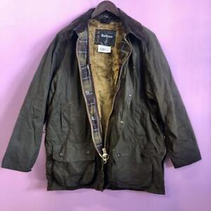 Vintage Barbour Classic Beaufort wax jacket