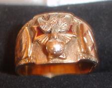 Vintage K of C Knights of Columbus 10K Gold Ring Sz 12.5