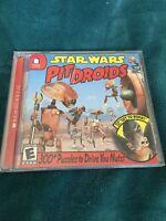 Star Wars Pit Droids Lucas Scholastic Vintage Rare Computer Game 2002 PC NM EUC