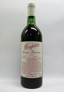 Penfolds Grange Shiraz 1971 Red Wine